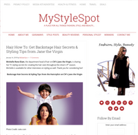 MyStyleSpot - Hair How To: Get Backstage Hair Secrets & Styling Tips from Jane the Virgin