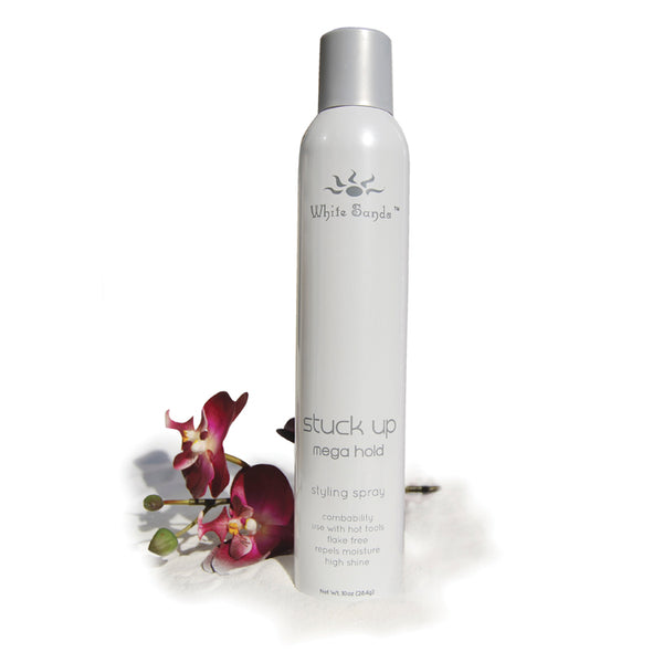 Stuck Up Mega Hold Hair Spray White Sands Products