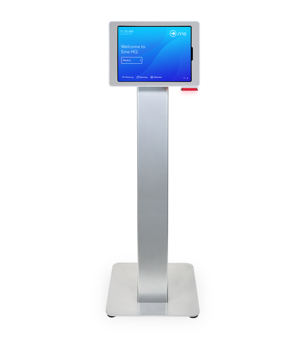 ID Scanning Floor Stand