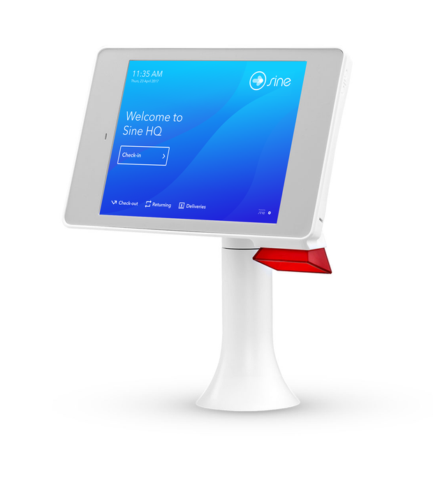 ID Scanning Desk Stand