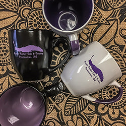Purple Feather Mugs