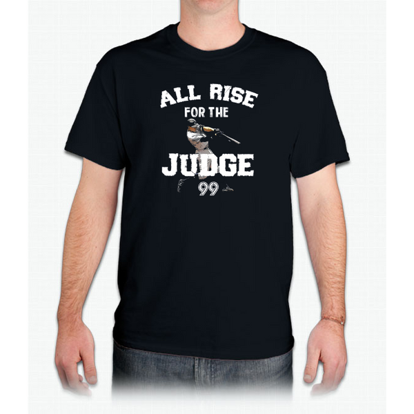 All rise aaron for the Judge 99 Shirt illustration Graphic Custom Ultra Cotton