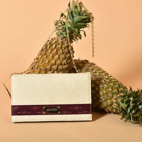 Ella Piña Wallet - Red