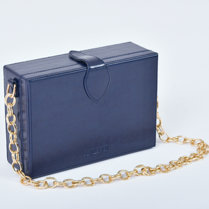 Noah Box Bag - Midnight Blue