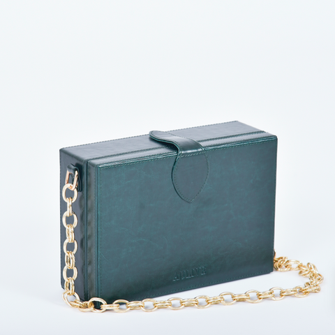 Noah Box Bag - Ivy Green