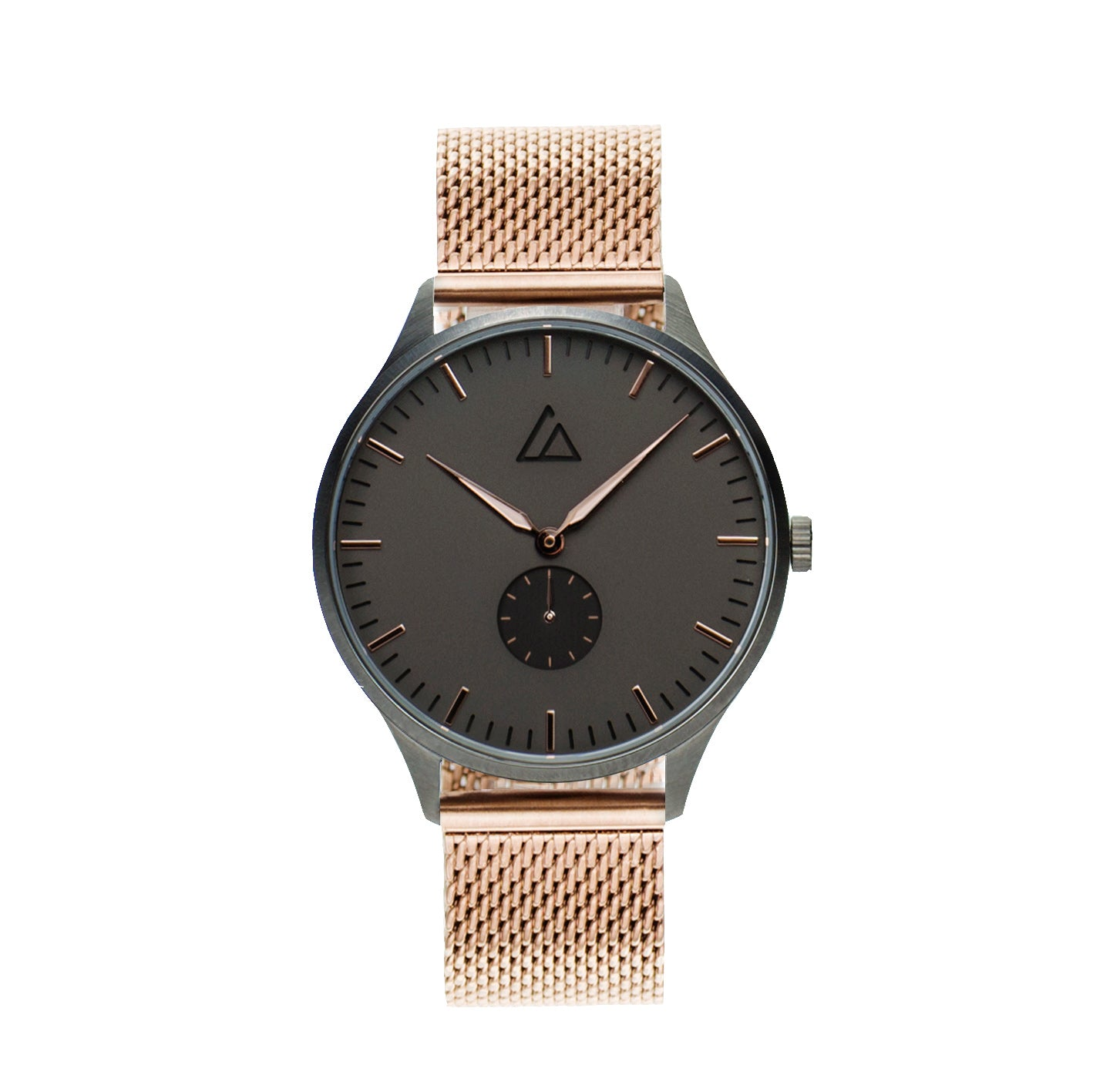 Gun-Rose Gold with Rose Gold Mesh