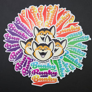 Bunky Brand Stickers