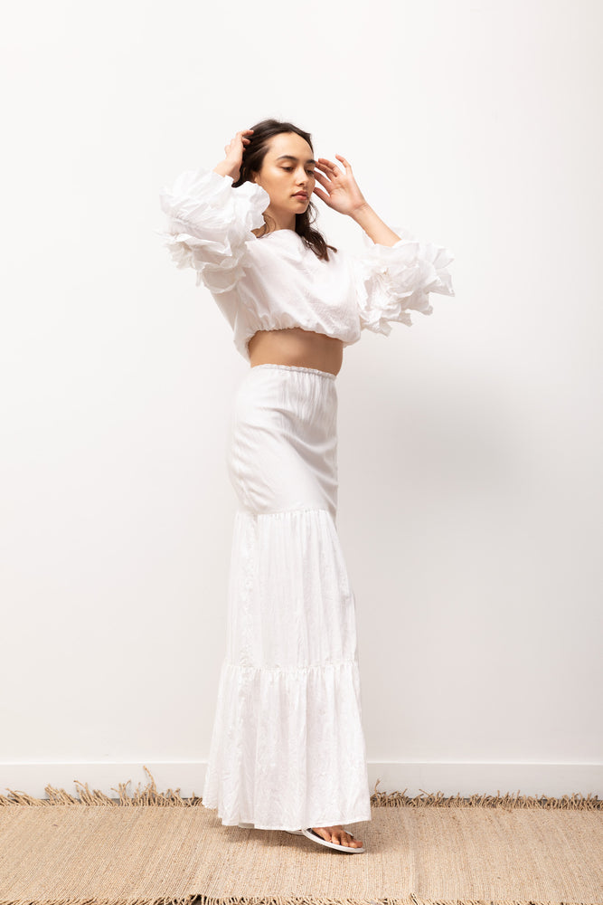 Load image into Gallery viewer, Juliette Skirt or Dress / Off-White