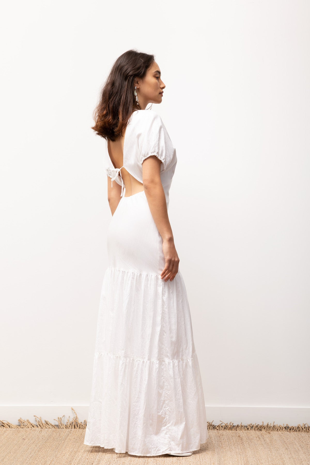 Georgia Dress / Off-White