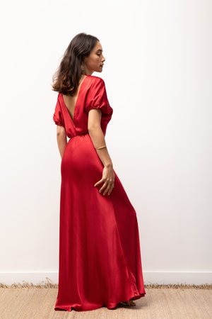 Adaline Dress - Red