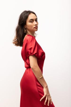 Adaline Dress / Red