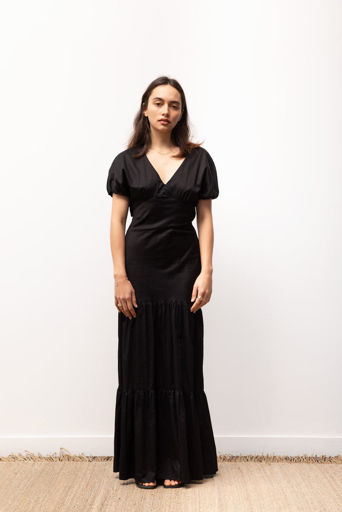 Load image into Gallery viewer, Georgia Dress / Black