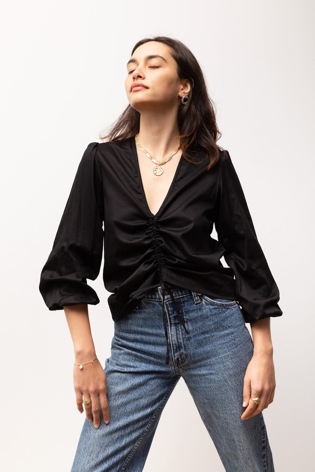 Oliver Blouse - Italian Cotton