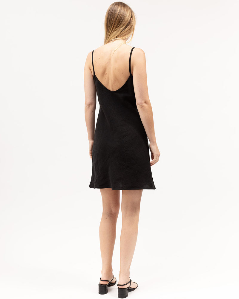 Load image into Gallery viewer, Mini Bias Dress / Black