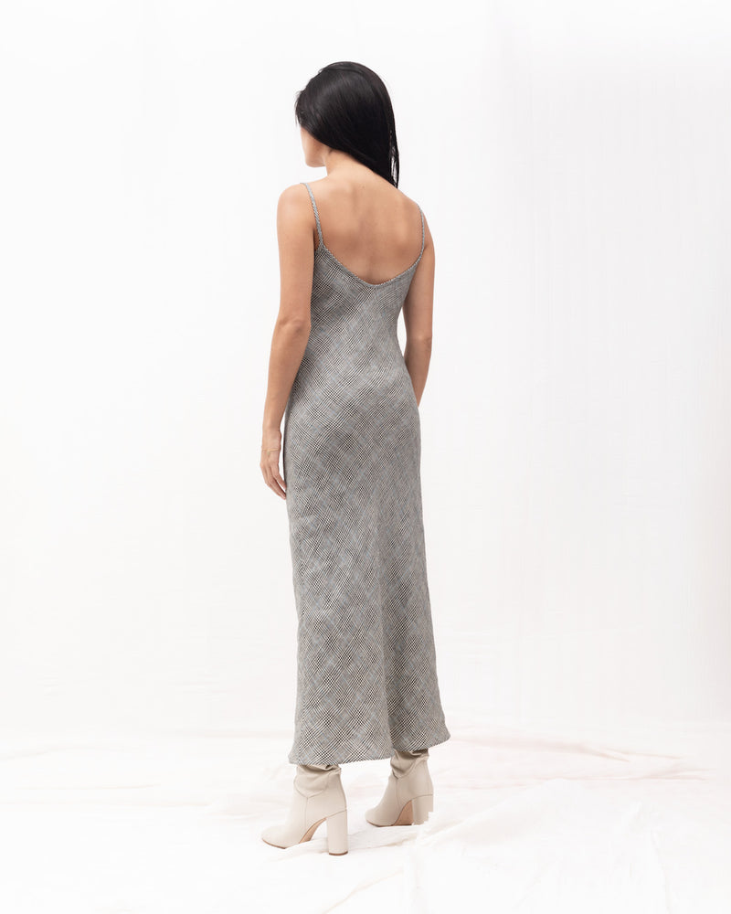 Tara Bias Slipdress / Plaid