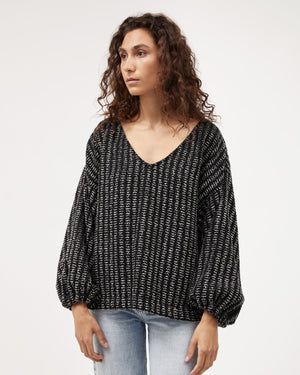 Load image into Gallery viewer, Minka Jumper / Charcoal Feather
