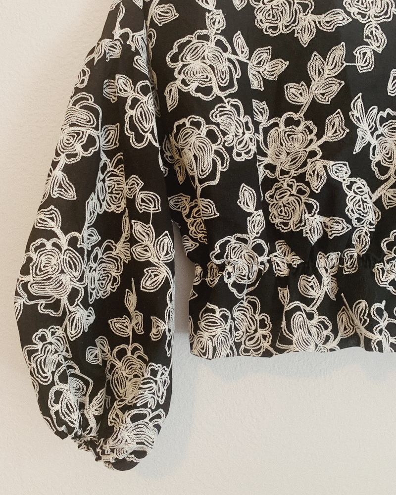 Shosanna Blouse / Embroidered Cotton