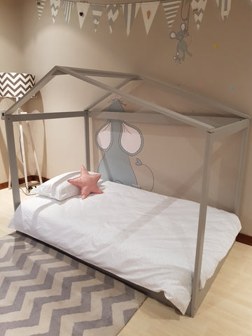 Sophia's big girl bed