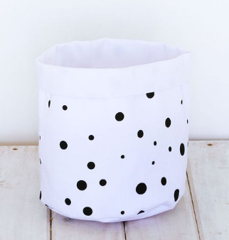 Small Store-me Basket - Blizzard Dots