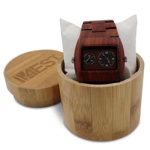 Red Sandalwood - Real Wood Watch from 4EST Shades