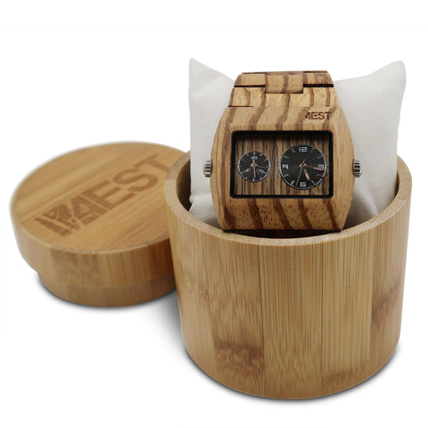 Zebra - Real Wood Watch from 4EST Shades