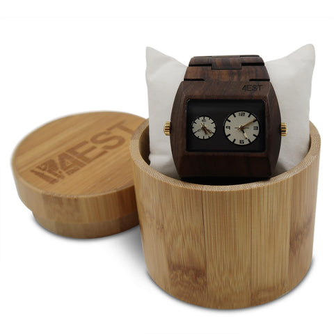 Black Sandalwood - Real Wood Watch from 4EST Shades