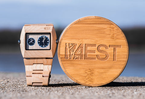 Maple - Real Wood Watch from 4EST Shades