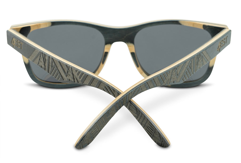 4880d9046d Etched Black Maple Wood Shades