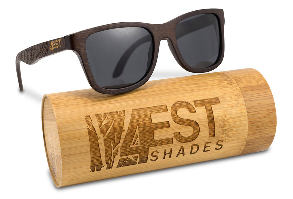 b240d198b01 Etched Brown Bamboo Shades