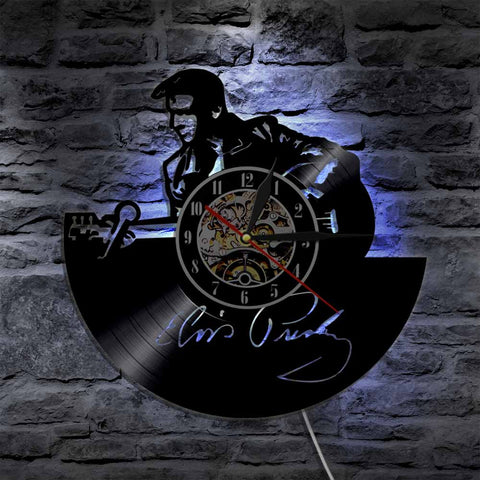 Elvis Presley Led Vinyl Wall Clock A