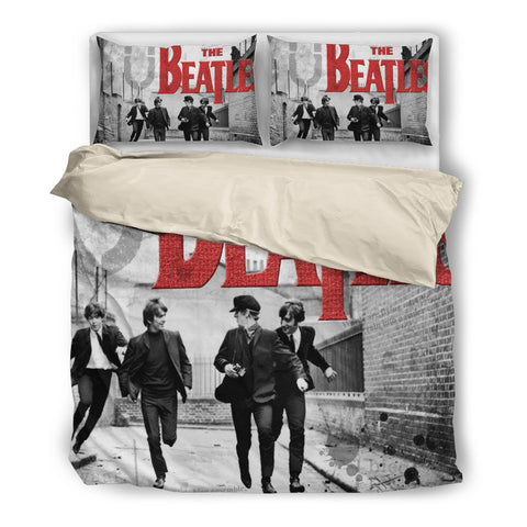 The Beatles Running Man Duvet Cover Set