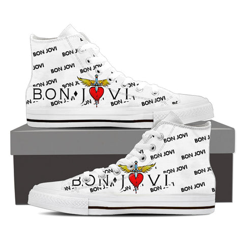 BonJovi Bad Medicine High Top Canvas J