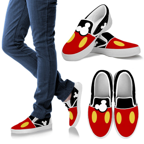 MickeyMouse Trendy Slip Ons #11