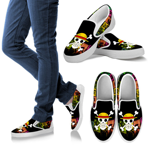 ONE PIECE Limited Edition Slip Ons D8