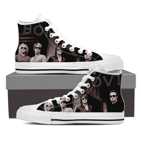 BonJovi Bad Medicine High Top Canvas L