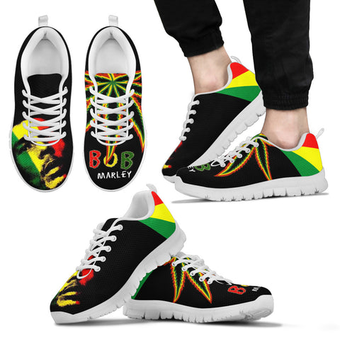 Bob Marley Inspired Sneakers D4