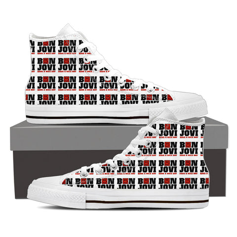 BonJovi Bad Medicine High Top Canvas H