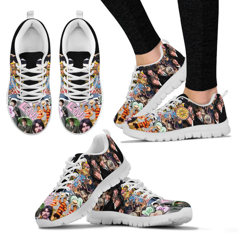 Walk with Beatles Women's Sneakers