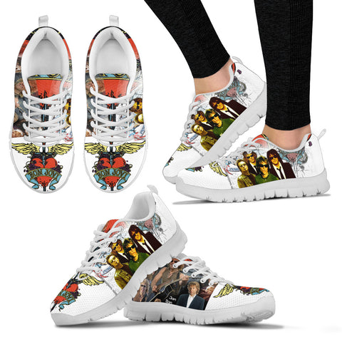 BonJovi Bed Of Roses Sneakers E