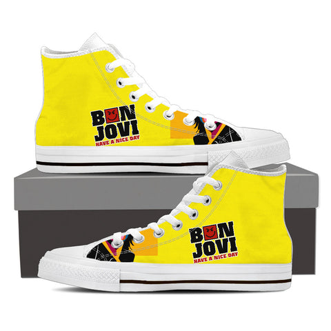 BonJovi Bad Medicine High Top Canvas E