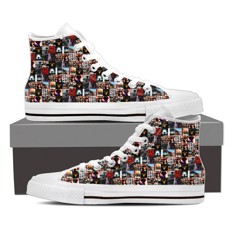 BonJovi Bad Medicine High Top Canvas B