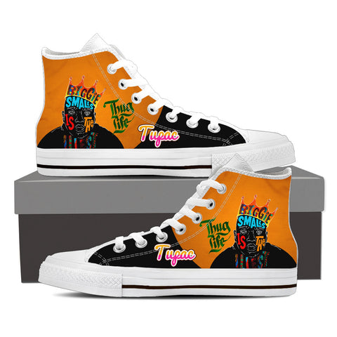 2Pac Gridlock'd Ladies High Top Canvas A