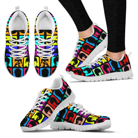 #3 Beatles Multicolored Women Sneakers