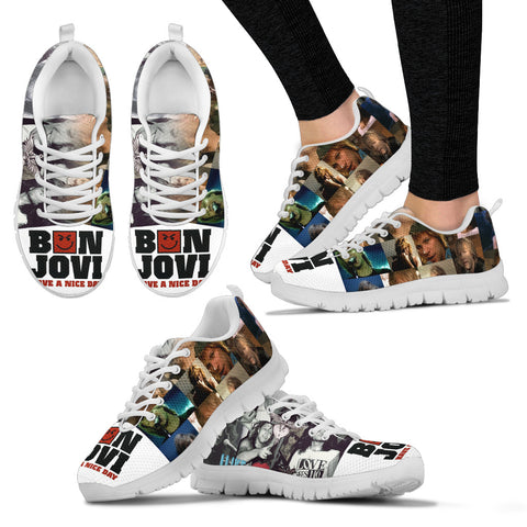 BonJovi Bed Of Roses Sneakers D