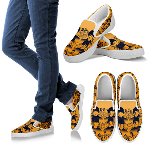 #5 Women Beatles Slip Ons