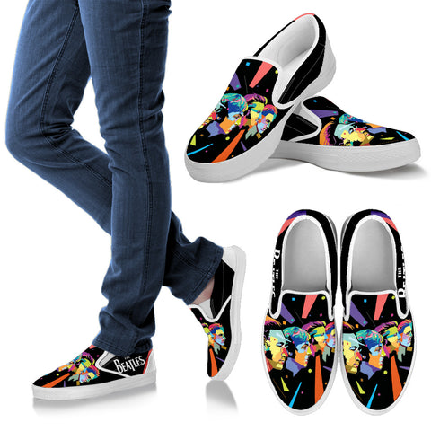 #7 The Beatles Limited Edition Slip Ons For Women