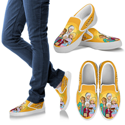 The Golden Girls Limited Edition Slip Ons D1