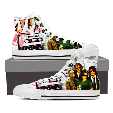 BonJovi Bad Medicine High Top Canvas I