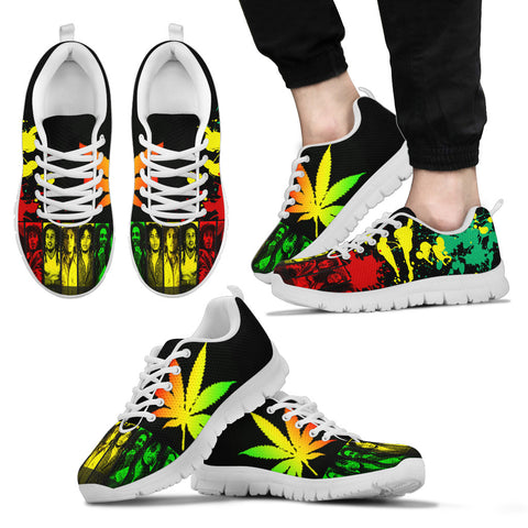 Bob Marley Inspired Sneakers D5
