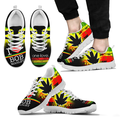 Bob Marley Inspired Sneakers D9